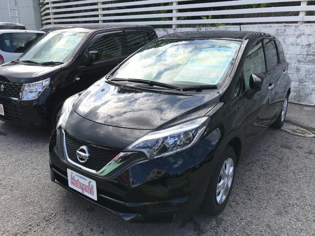 沖縄県の中古車ならノート X 社外ナビ エマージェンシーブレーキ アイドリングストップ