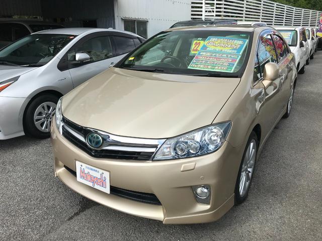 沖縄の中古車 トヨタ SAI 車両価格 79万円 リ済込 2010(平成22)年 7.1万km ベージュメタリック