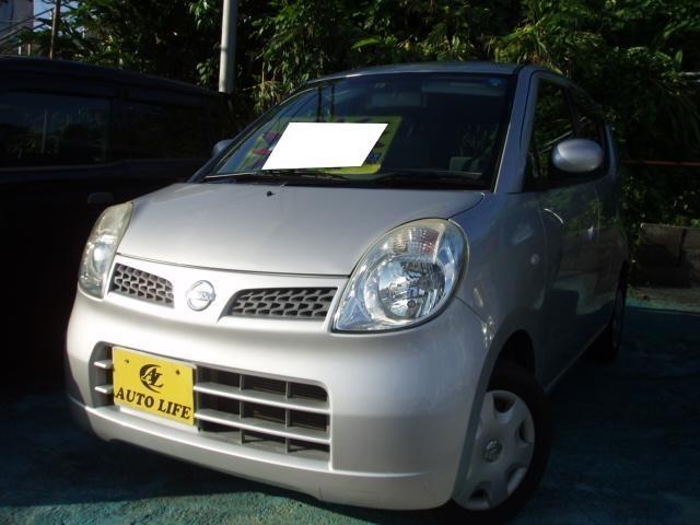 沖縄の中古車 日産 モコ 車両価格 24万円 リ済込 平成18年 12.7万km シルバー