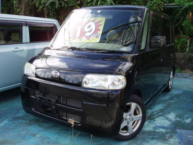 沖縄の中古車 ダイハツ タント 車両価格 19万円 リ済込 2006(平成18)年 12.5万km ブラック