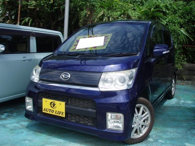沖縄の中古車 ダイハツ ムーヴ 車両価格 29万円 リ済込 2009(平成21)年 4.3万km ダークブルー