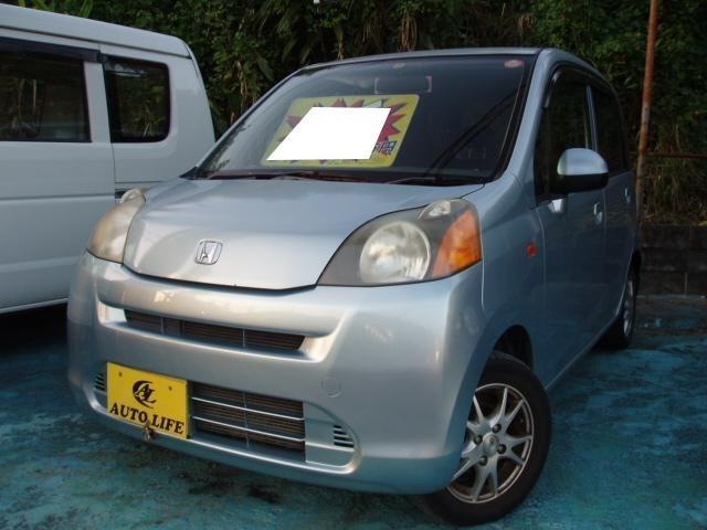 沖縄の中古車 ホンダ ライフ 車両価格 18万円 リ済込 2008(平成20)年 12.6万km シルバー