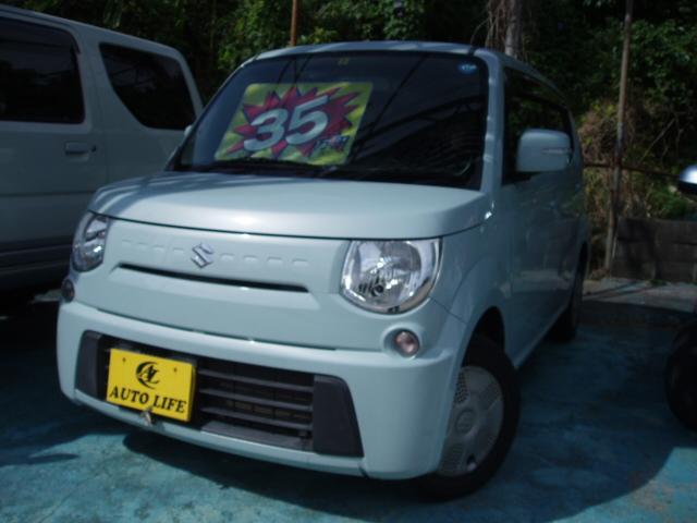 沖縄の中古車 スズキ MRワゴン 車両価格 35万円 リ済込 2011(平成23)年 10.5万km ライトブルー