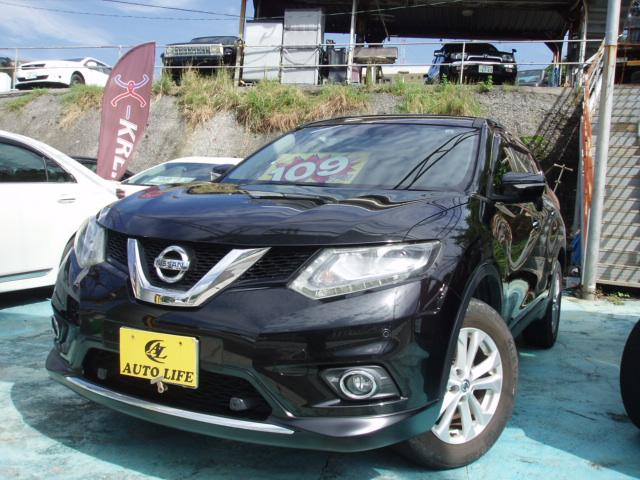 沖縄の中古車 日産 エクストレイル 車両価格 109万円 リ済込 2014(平成26)年 10.1万km ブラック