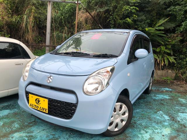 沖縄の中古車 スズキ アルト 車両価格 29万円 リ済込 2011(平成23)年 4.6万km ライトブルー