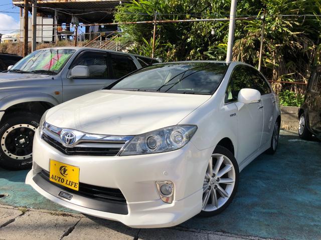 沖縄の中古車 トヨタ SAI 車両価格 69万円 リ済込 2010(平成22)年 10.2万km パールホワイト
