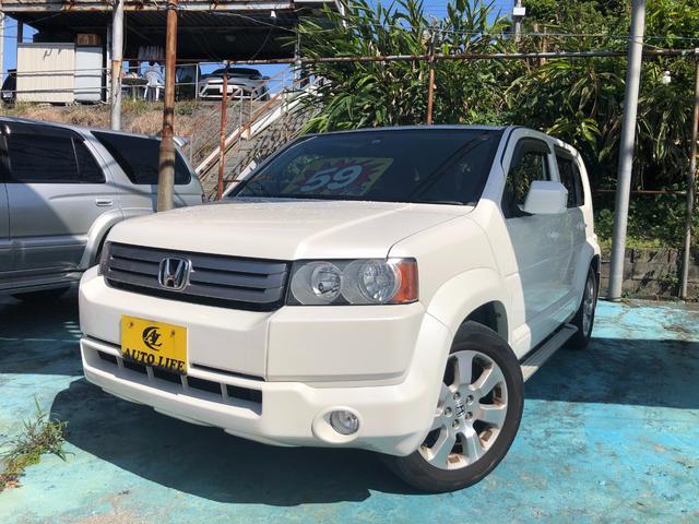沖縄の中古車 ホンダ クロスロード 車両価格 59万円 リ済込 2008(平成20)年 9.9万km パールホワイト