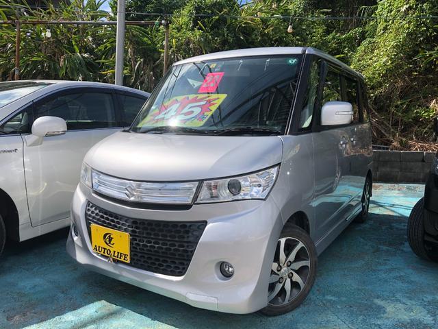 沖縄の中古車 スズキ パレットSW 車両価格 38万円 リ済込 2011(平成23)年 10.7万km シルバー