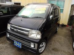 沖縄の中古車 ダイハツ アトレーワゴン 車両価格 25万円 リ済込 平成16年 13.0万K ブラックM