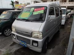 沖縄の中古車 スズキ エブリイワゴン 車両価格 25万円 リ済込 平成13年 10.9万K シルバーM