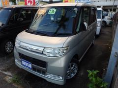沖縄の中古車 ダイハツ タント 車両価格 48万円 リ済込 平成21年 9.3万K シャンパンゴールド