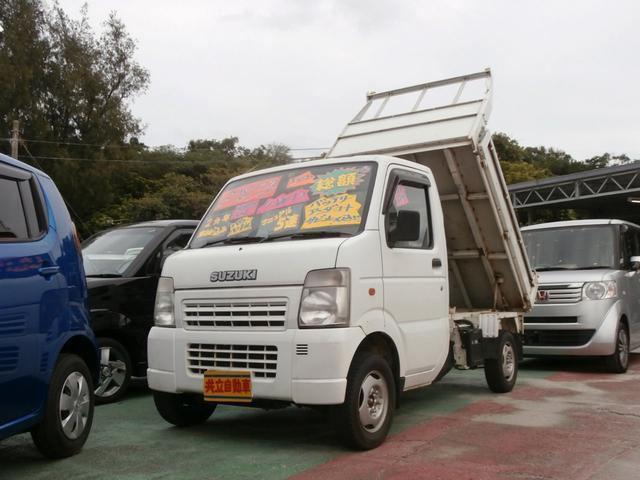 沖縄の中古車 スズキ キャリイトラック 車両価格 59万円 リ済込 平成19年 14.6万km ホワイト