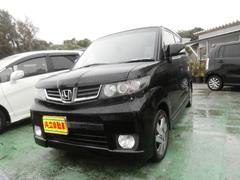 沖縄の中古車 ホンダ ゼストスパーク 車両価格 62万円 リ済込 平成23年 6.5万K ブラック