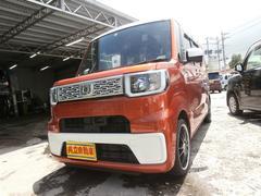 沖縄の中古車 ダイハツ ウェイク 車両価格 113万円 リ済込 平成26年 7.7万K オレンジM