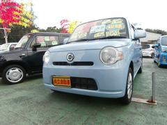 沖縄の中古車 ダイハツ ミラココア 車両価格 53万円 リ済込 平成23年 8.9万K ライトブルー