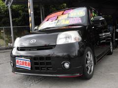 沖縄の中古車 ダイハツ エッセ 車両価格 53万円 リ済込 平成21年 9.8万K ブラック