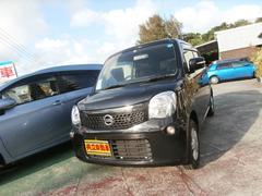 沖縄の中古車 日産 モコ 車両価格 55万円 リ済込 平成24年 8.8万K ブラック