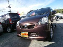 沖縄の中古車 ダイハツ ミライース 車両価格 39万円 リ済込 平成23年 9.3万K ブラウン