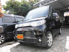沖縄の中古車 ダイハツ タント 車両価格 63万円 リ済込 平成23年 8.8万K ブラック