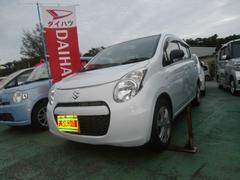 沖縄の中古車 スズキ アルトエコ 車両価格 45万円 リ済込 平成24年 7.2万K ライトブルー