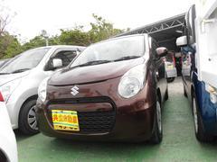 沖縄の中古車 スズキ アルトエコ 車両価格 49万円 リ済込 平成24年 6.0万K ブラウン