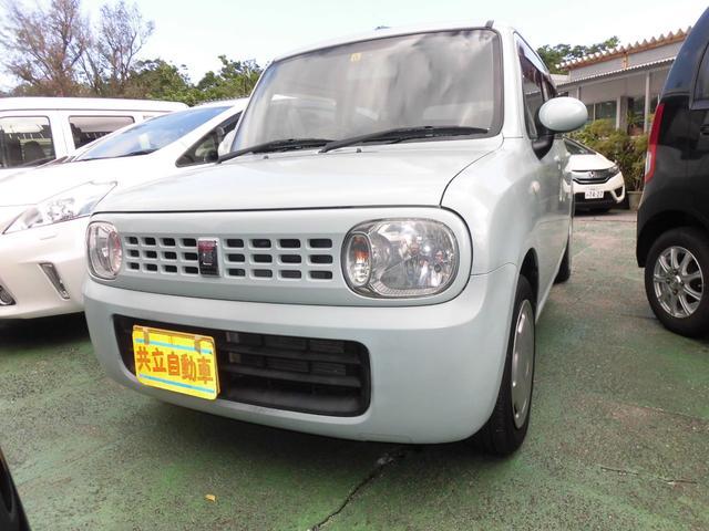沖縄の中古車 スズキ アルトラパン 車両価格 50万円 リ済込 平成22年 7.1万km ライトブルー