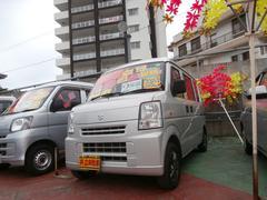 沖縄の中古車 スズキ エブリイ 車両価格 53万円 リ済込 平成22年 7.9万K シルバー