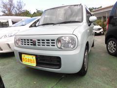 沖縄の中古車 スズキ アルトラパン 車両価格 50万円 リ済込 平成22年 7.1万K ライトブルー