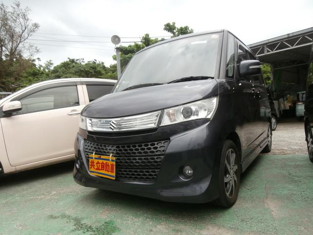 沖縄の中古車 スズキ パレットSW 車両価格 60万円 リ済込 平成23年 9.3万km グレー