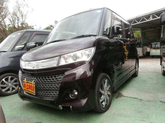 沖縄の中古車 スズキ パレット 車両価格 49万円 リ済込 平成21年 9.7万km パープル