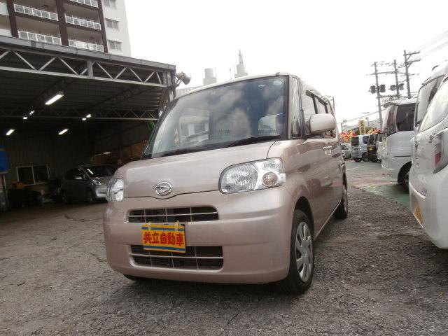 沖縄の中古車 ダイハツ タント 車両価格 49万円 リ済込 平成24年 9.9万km ローズ