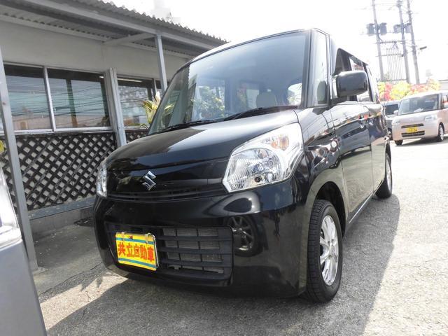 沖縄県の中古車ならスペーシア G スマートフォン連携ナビ