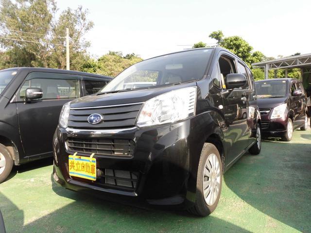 沖縄の中古車 スバル ステラ 車両価格 65万円 リ済込 2015(平成27)年 6.0万km ブラック