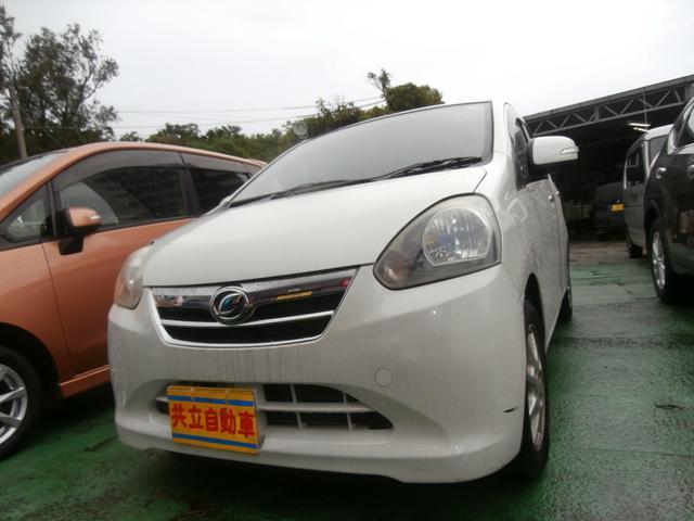 沖縄の中古車 ダイハツ ミライース 車両価格 45万円 リ済込 2012(平成24)年 4.6万km パール