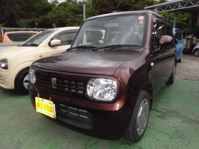 沖縄の中古車 スズキ アルトラパン 車両価格 45万円 リ済込 2011(平成23)年 9.2万km ブラウン