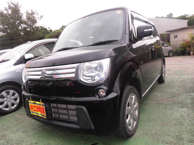沖縄の中古車 スズキ MRワゴン 車両価格 49万円 リ済込 2012(平成24)年 9.4万km ブラック