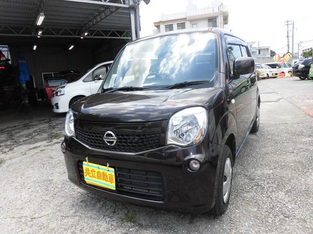 沖縄の中古車 日産 モコ 車両価格 55万円 リ済込 2013(平成25)年 7.3万km ブラウンM