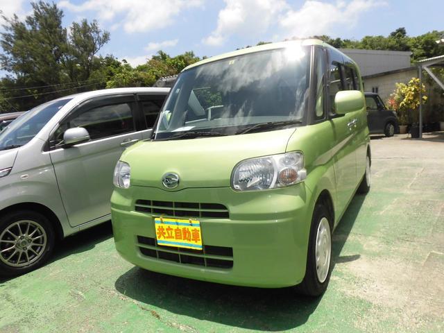 沖縄の中古車 ダイハツ タント 車両価格 50万円 リ済込 2012(平成24)年 9.5万km グリーンM