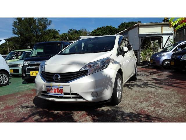 沖縄県沖縄市の中古車ならノート X DIG-Sエマージョンブレーキシステム