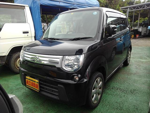 沖縄の中古車 スズキ MRワゴン 車両価格 55万円 リ済込 2013(平成25)年 7.2万km ブラック