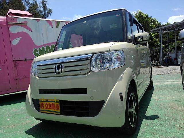 沖縄県の中古車ならN-BOX+ G・Lパッケージ 車いす仕様車 スローパー
