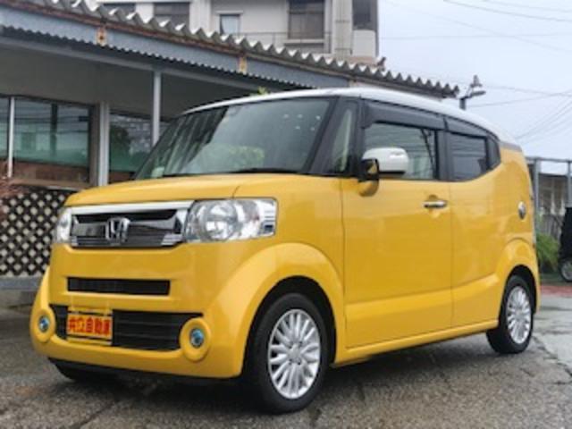 沖縄の中古車 ホンダ N-BOXスラッシュ 車両価格 105万円 リ済込 2015(平成27)年 7.9万km イエローII