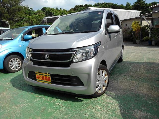 沖縄の中古車 ホンダ N-WGN 車両価格 55万円 リ済込 2015(平成27)年 9.0万km シルバー