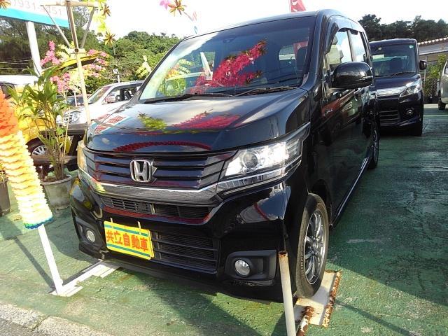 沖縄県沖縄市の中古車ならN-WGNカスタム G・Aパッケージ シティブレーキアクティブシステム