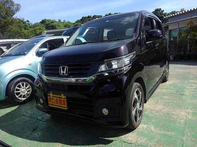 沖縄県沖縄市の中古車ならN-WGNカスタム G・ターボパッケージ シティブレーキアクティブシステム