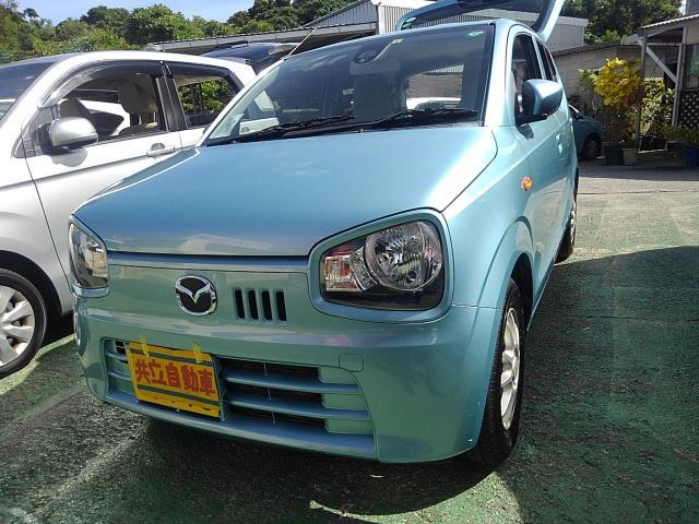 沖縄県沖縄市の中古車ならキャロル GS レーダーブレーキサポート