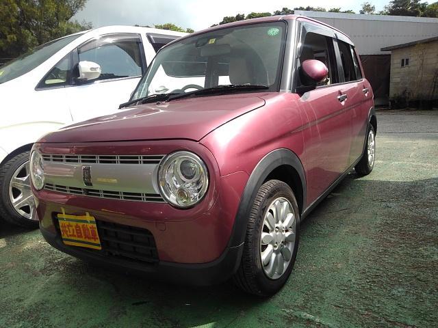 沖縄県沖縄市の中古車ならアルトラパン X アラウンドヴューモニター