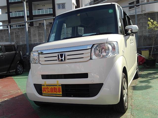 沖縄県沖縄市の中古車ならN-BOX+ G・Lパッケージ