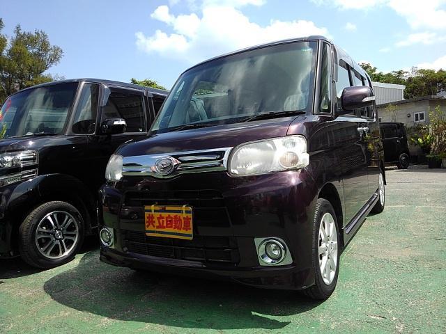沖縄の中古車 ダイハツ タント 車両価格 55万円 リ済込 2012(平成24)年 9.1万km ブラウン