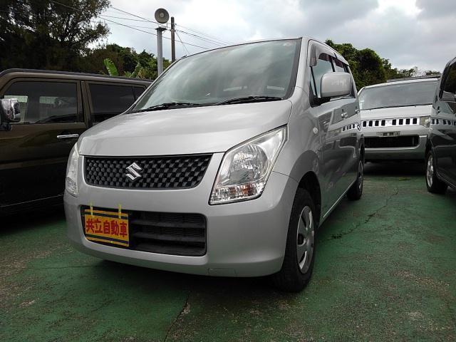 沖縄の中古車 スズキ ワゴンR 車両価格 40万円 リ済込 2012(平成24)年 8.9万km シルバー